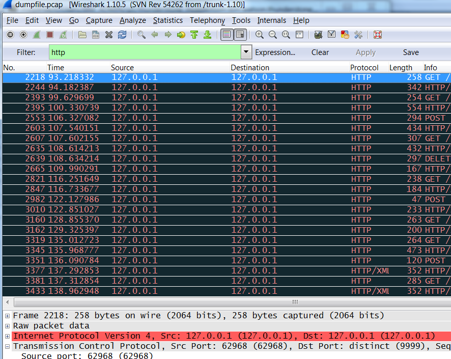 RawCap and Wireshark: How to capture and analyze local traffic from